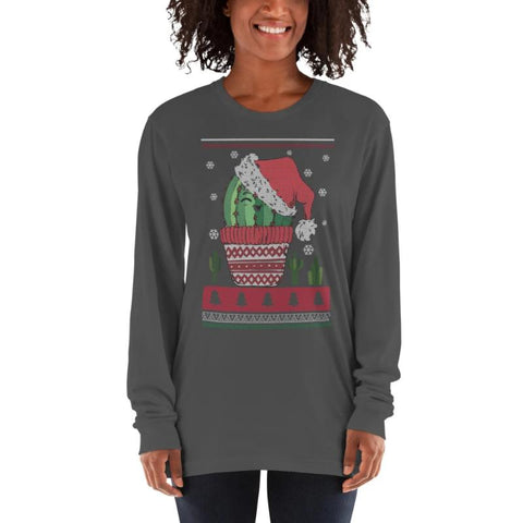 Jolly Cactus Christmas Shirt
