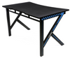 AKRACING GAMING DESK BLUE - Carbon Fibre Look