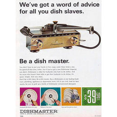 be a dishmaster