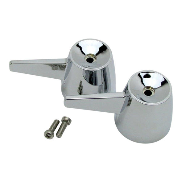 K0672CP - K0672CP Valve Handles with Screws, Chrome - Dishmaster Faucet