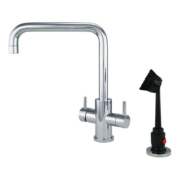 M31370 - Dishmaster M70CPRA Sapphire Right Angle, Chrome - Dishmaster Faucet