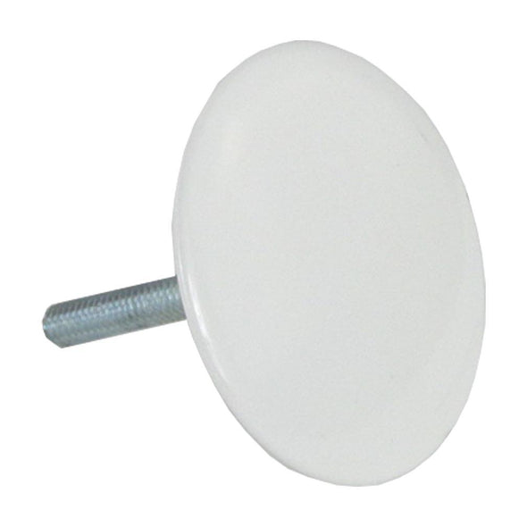 P1003WE - P1003WE Sink Hole Cover, White - Dishmaster Faucet