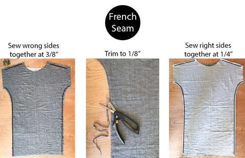 How to do a french seam