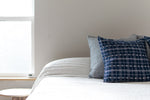 Indigo Woven Pillow Covers