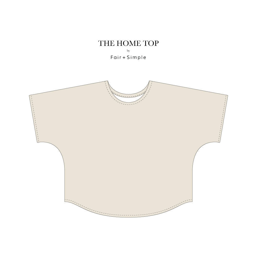 The Home Top | A Digital Sewing Pattern and Tutorial