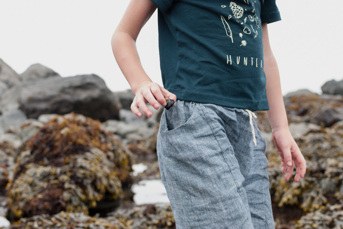 Treasure Pants - Chambray Blue