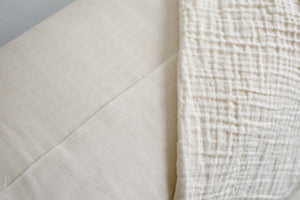organic fair trade double gauze fabric by the yard