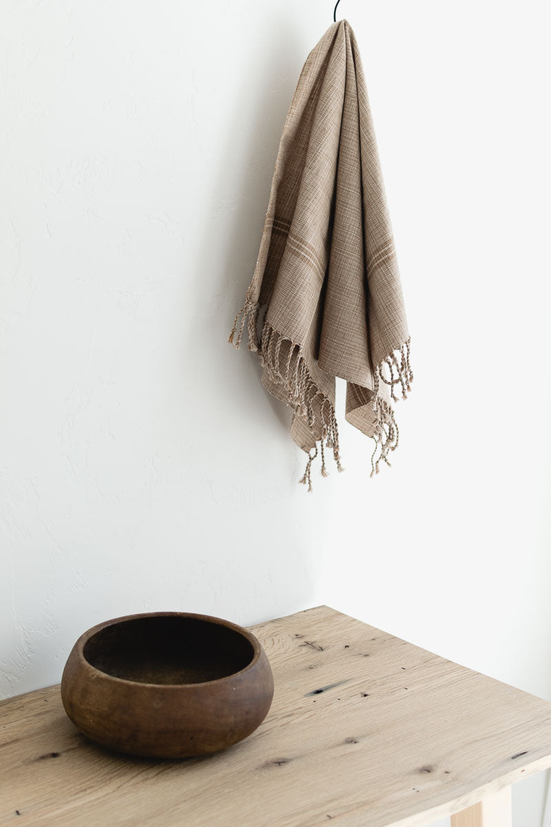handwoven kitchen tea towel fair trade