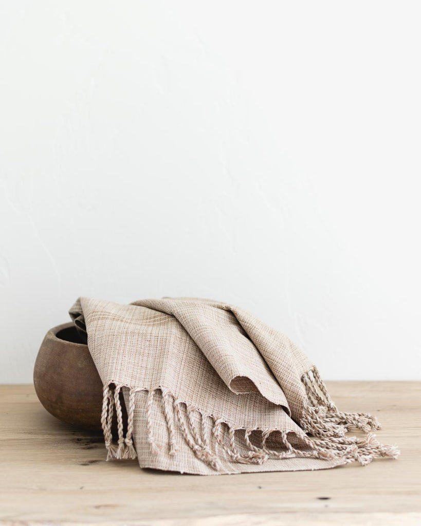 WHOLESALE: Woven Hand Towel in Desert