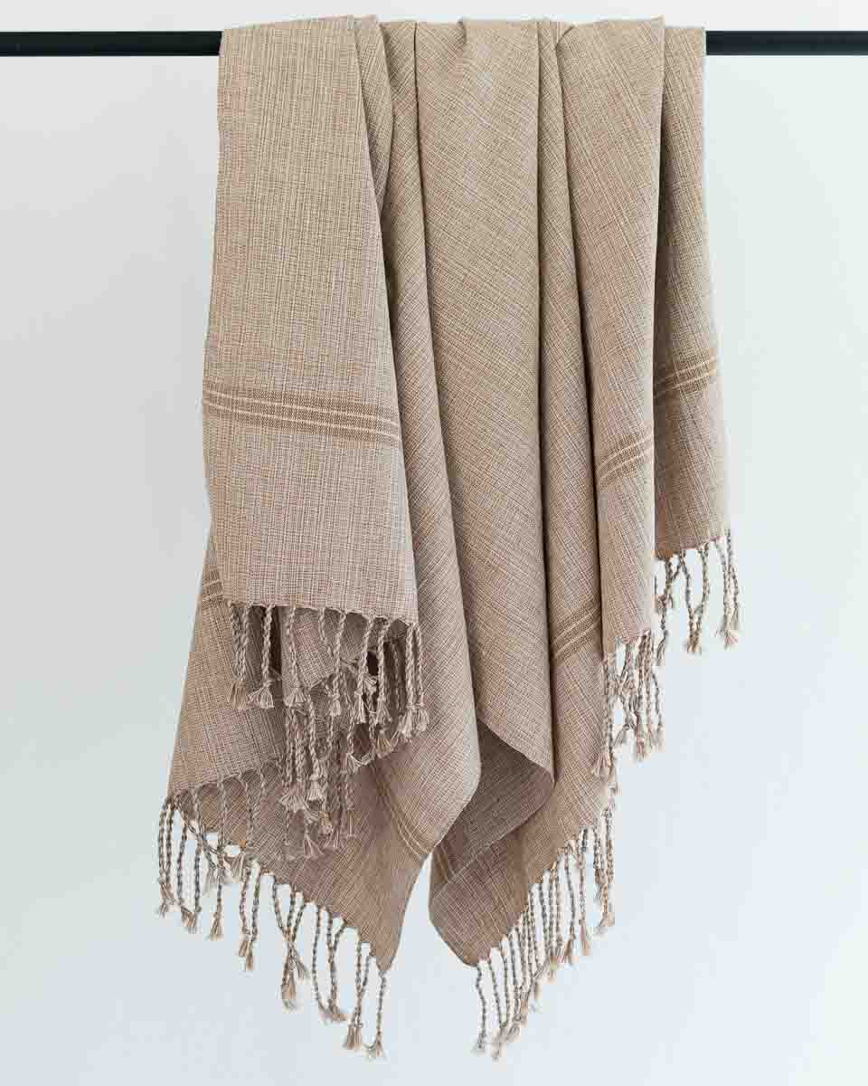 fair trade bath towel woven