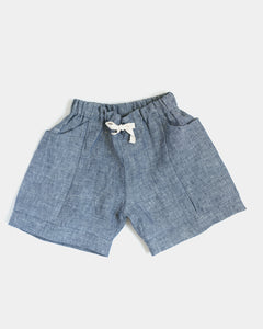 childrens linen shorts