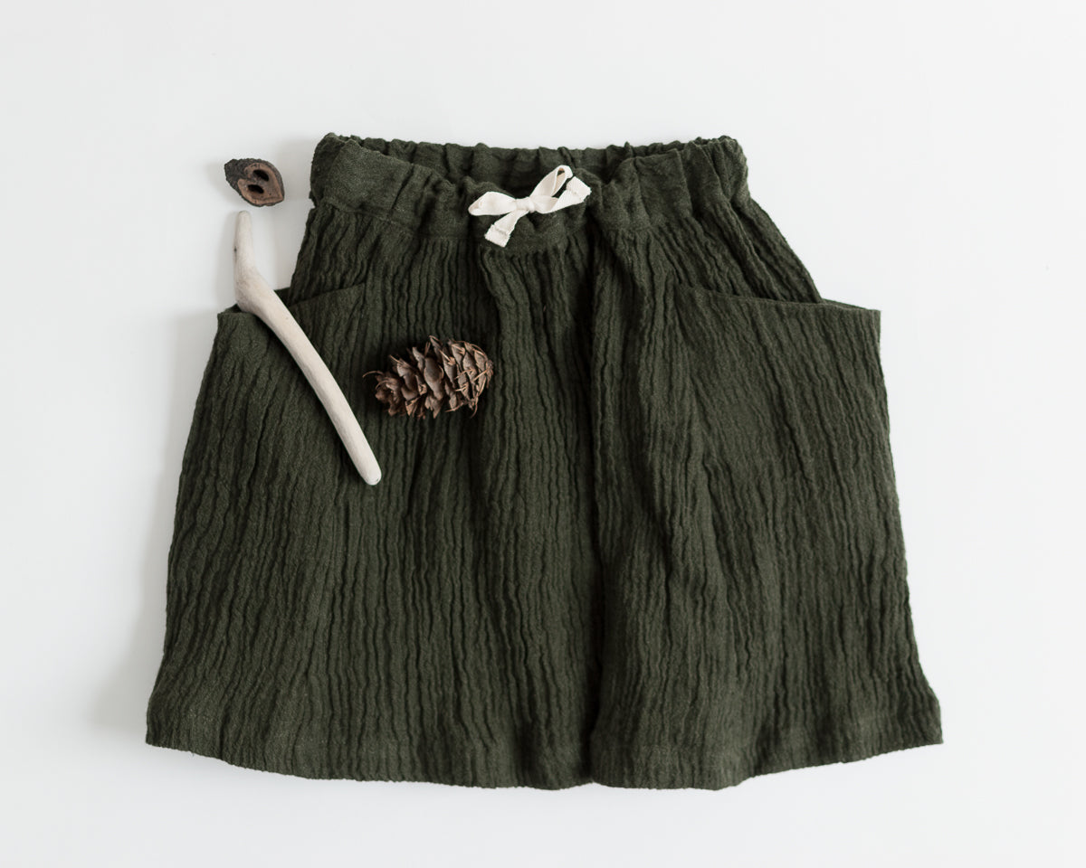 Treasure Skirt - Crinkle Linen Gauze