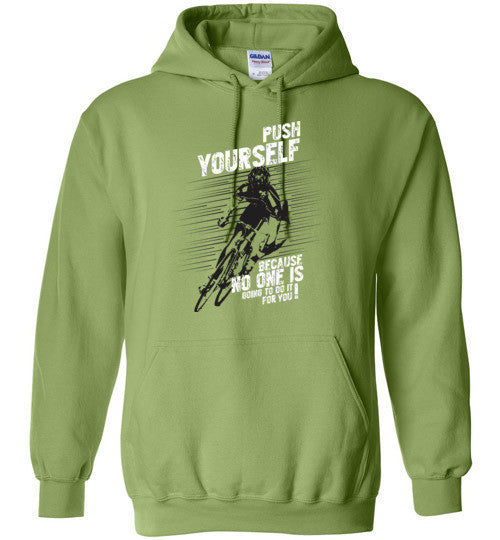 """Push Yourself"" Cycling Hoodie"