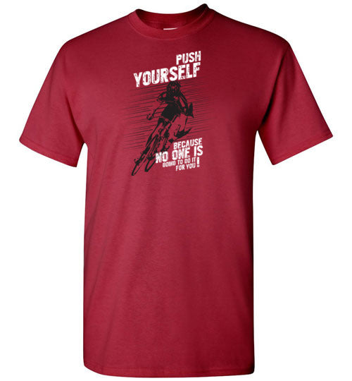"""Push Yourself"" Cycling T-Shirt"