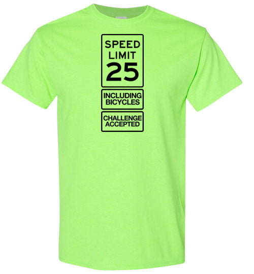 """Challenge Accepted!"" Cycling T-Shirt"