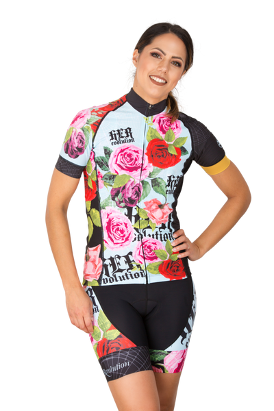Women's HERevolution HEROSES Tri Cycling Jersey and Shorts