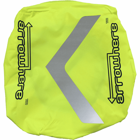 Arrowhere Hi-Vis Road Cycling Waterproof Backpack Cover
