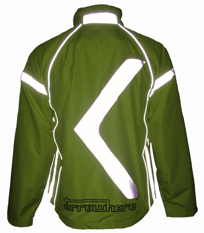 I Love Road Cycling Arrowhere Hi-Viz Road Cycling Jacket
