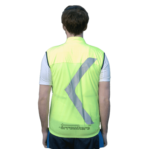Unisex Arrowhere Hi-Vis Road Cycling Windproof Vest