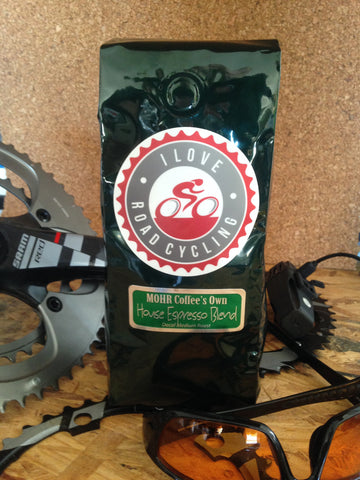EXCLUSIVE I LOVE ROAD CYCLING DECAF COFFEE (WHOLE BEANS)