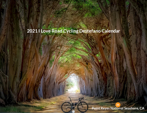 2021 I Love Road Cycling Chris Destefano Wall Calendar