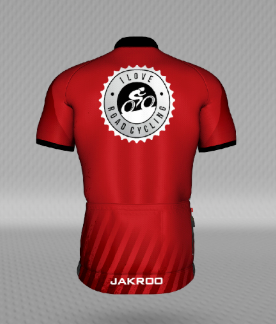 MENS I Love Road Cycling ROUGE Cycling Jersey