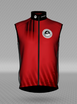 MENS I Love Road Cycling ROUGE Cycling Wind Vest