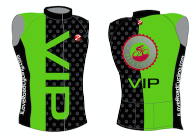 ***NEW*** WOMEN VIP Bold SLEEVELESS Cycling Jersey