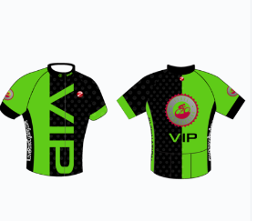 WOMEN VIP Club Fit Bold Cycling Jersey