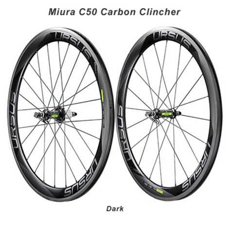 URSUS - Miura C50 Carbon Clincher Road Wheels