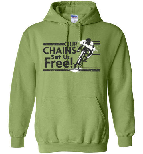 """Our Chains"" Cycling Hoodie"