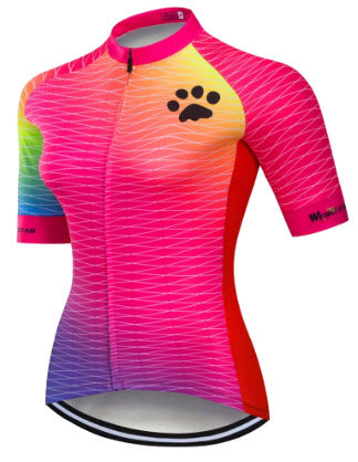 Women's Short-Sleeve Paw Jersey