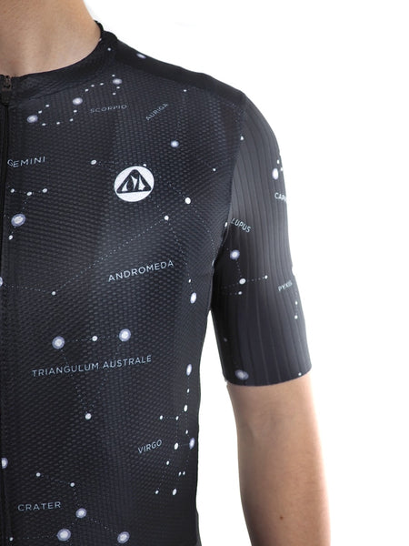 Racmmer PRO FIT Starry Sky Short Sleeve Cycling Jersey