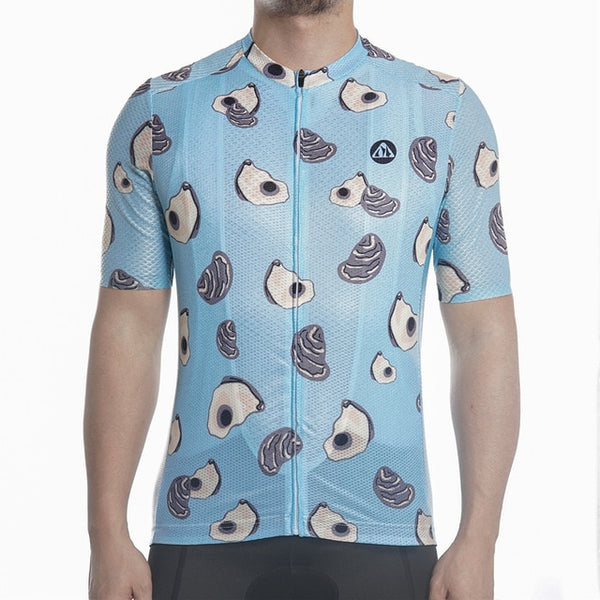 Racmmer PRO FIT Sea Food Short Sleeve Cycling Jersey