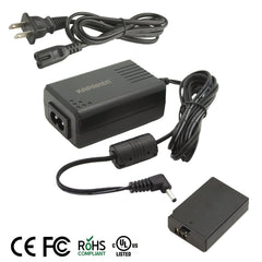 Kapaxen™ ACK-E10 AC Adapter Kit (UL Listed) For Canon EOS Rebel T6, T5, and T3 Cameras