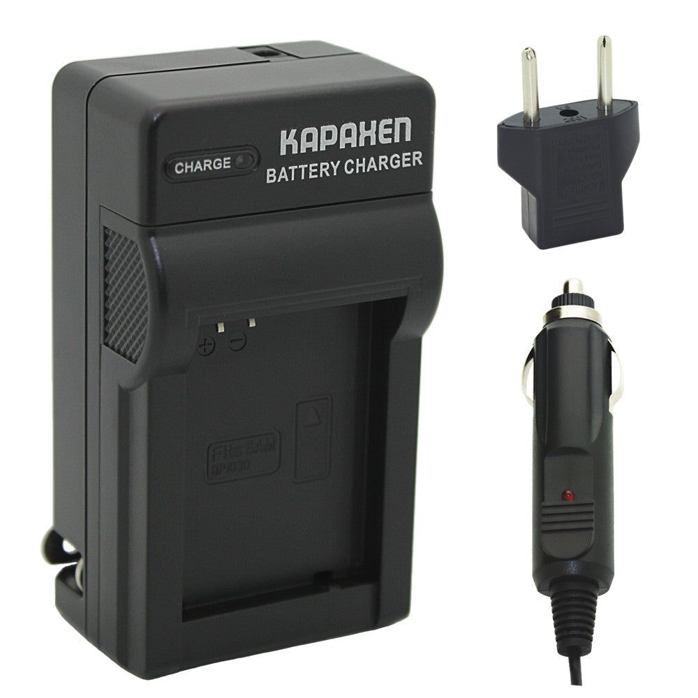 Kapaxen™ BP1030 BP1130 Battery Charger Kit for Samsung NX-1000, NX-1100, NX-2000, NX-300, NX-200, NX-210 Cameras