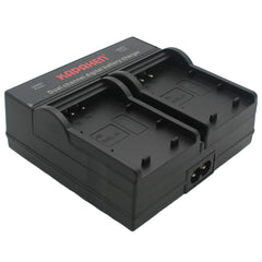 Kapaxen™ Dual Channel Battery Charger for Nikon EN-EL20 Camera Batteries