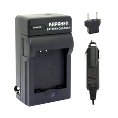 Kapaxen™ Charger Kit for Panasonic DMW-BCN10 Camera Battery