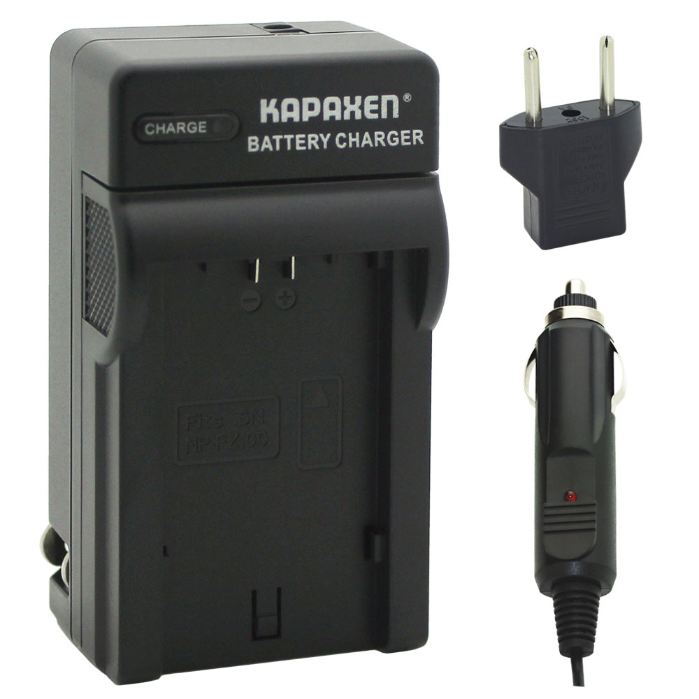 Kapaxen™ BC-QZ1 Charger for Sony NP-FZ100 Camera Batteries