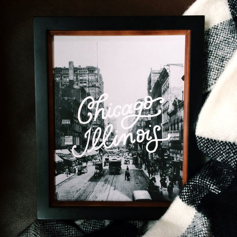 CHICAGO 8X10 VERTICAL PRINT