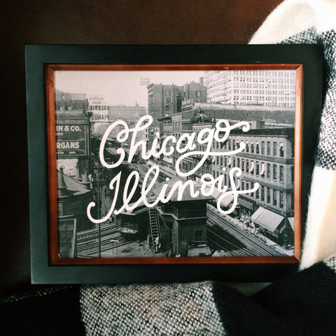 CHICAGO 8X10 HORIZONTAL PRINT