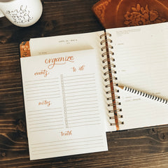 ORGANIZE NOTEPAD (MAGNETIC!)