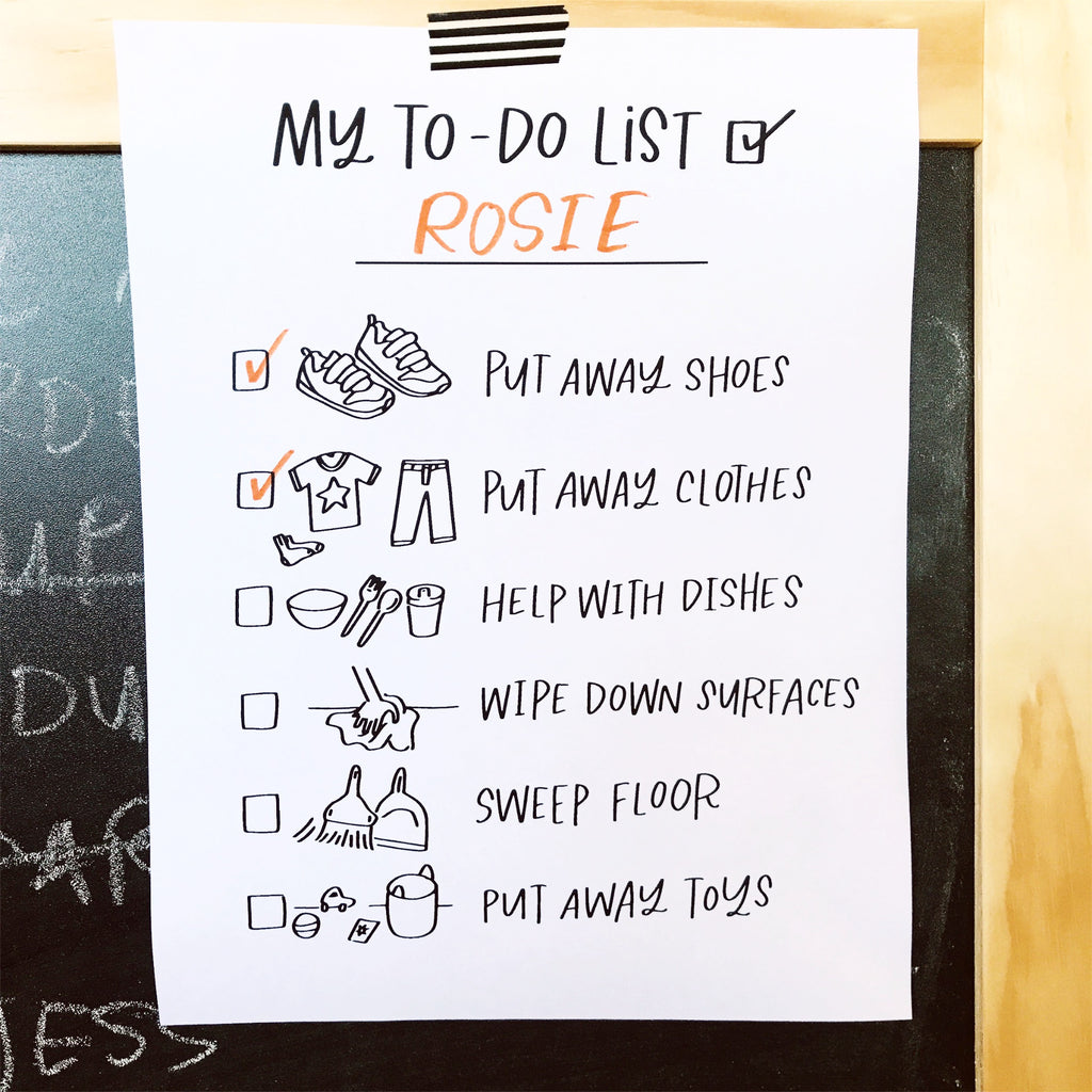 PRINTABLE // CHILDREN TO DO LIST