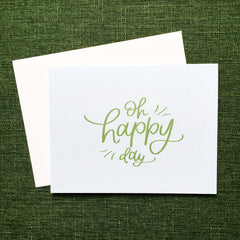 OH HAPPY DAY CELEBRATION CARD