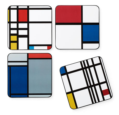 MONDRIAN COASTERS - SET OF 4