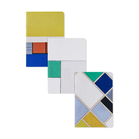 DE STIJL NOTEBOOK - Set of Three