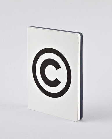 NOTEBOOK GRAPHIC: COPYRIGHT
