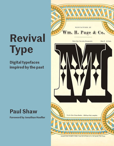 REVIVAL TYPE. Digital Typefaces inspired by the Past