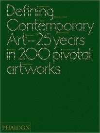 copertina di Defining Contemporary Art