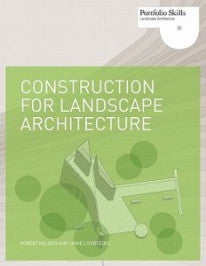 copertina di Construction for Landscape Architecture